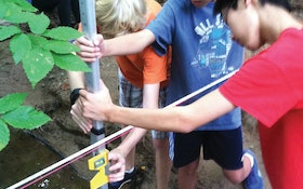 Georgia Students Get Feet Wet and Hands Dirty Learning the Importance of Water Quality