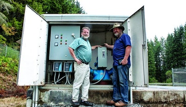 A Hydroturbine From Hydra Engineering Saves Power Costs For A Small Oregon Water Plant