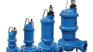 Submersible Pumps - Crane Pumps & Systems Barnes Solids Handling Series
