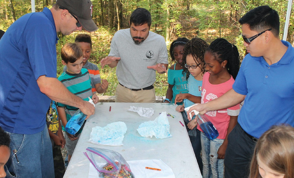 Henry County Kids Go Outdoors to Learn About Watersheds, Water Quality and Water Conservation