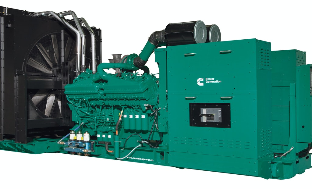Cummins announces new ratings classification for data center power generation systems