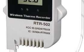 CAS DataLoggers T&D RTR-502 wireless temperature data logger