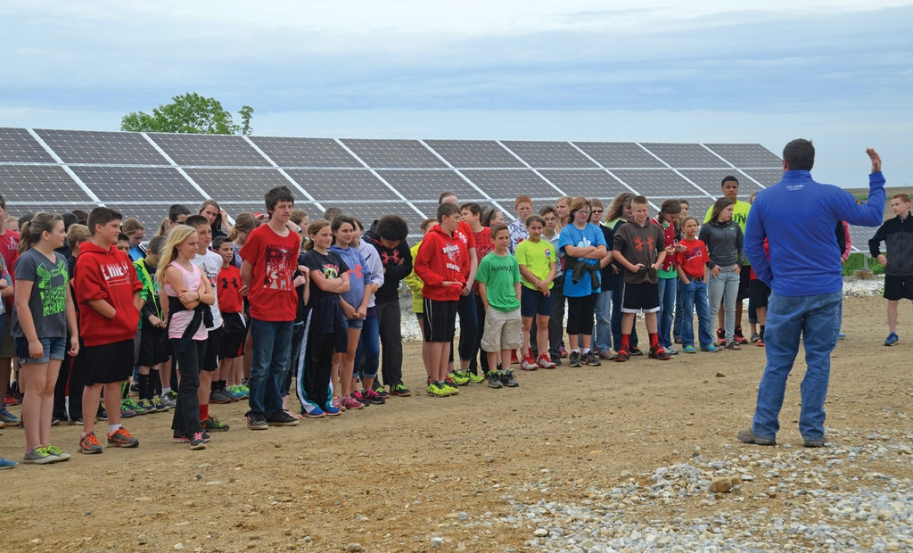 A Small Solar Power System Is a Perfect Fit for a Village in Illinois