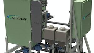 De Nora OMNIPURE Series 64 marine sewage treatment system