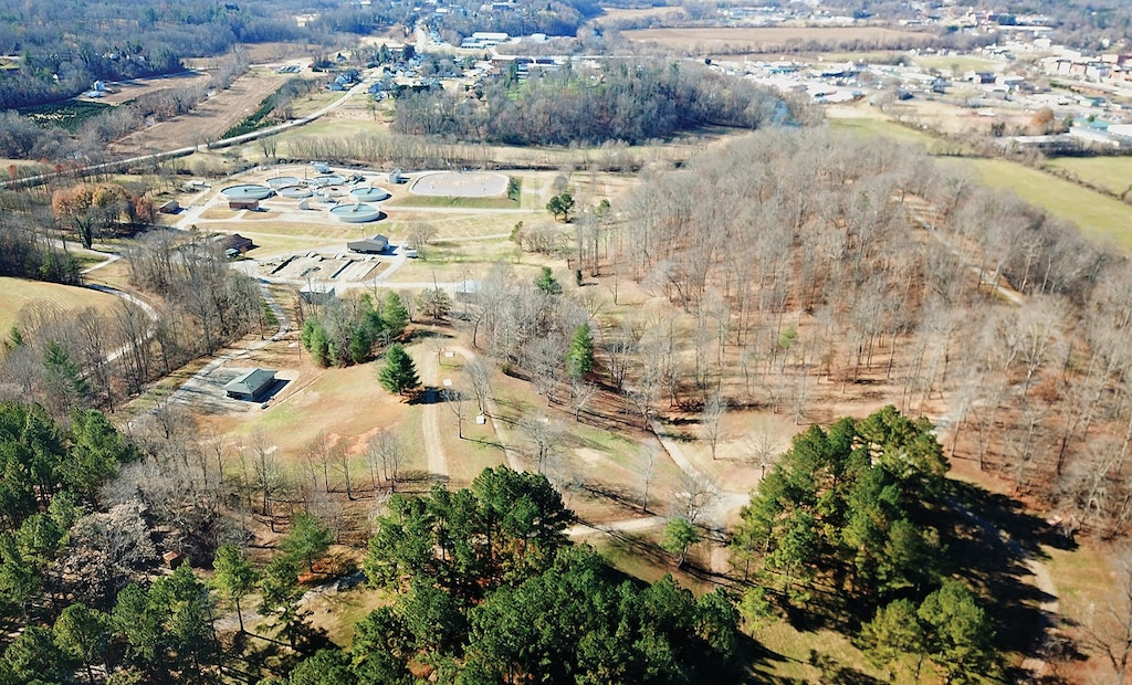 Once a Year, Swarms of Music Fans Converge on This Clean-Water Plant Site
