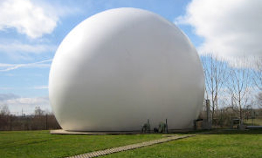Gasholders Control and Safely Store Odorous Biogas