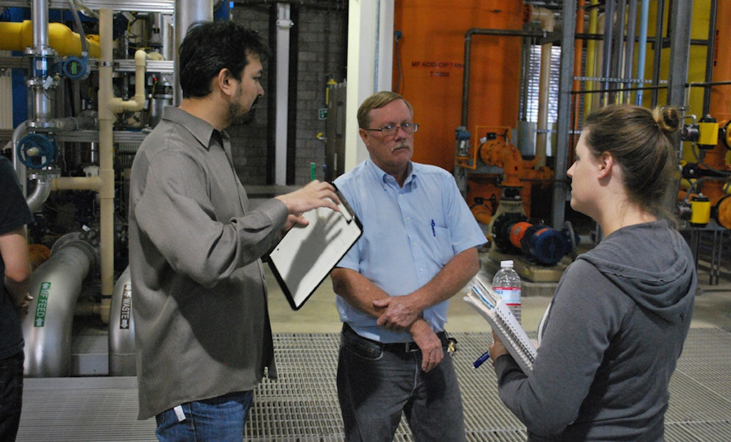 Students Learn About Nanofiltration at California Membrane Plant Tour