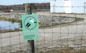A Treatment Plant's Settling Ponds Create an Attraction for Birds — and Bird-Watchers