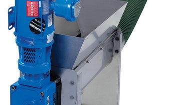 Auger Conveyor  Adds Disposal Flexibility