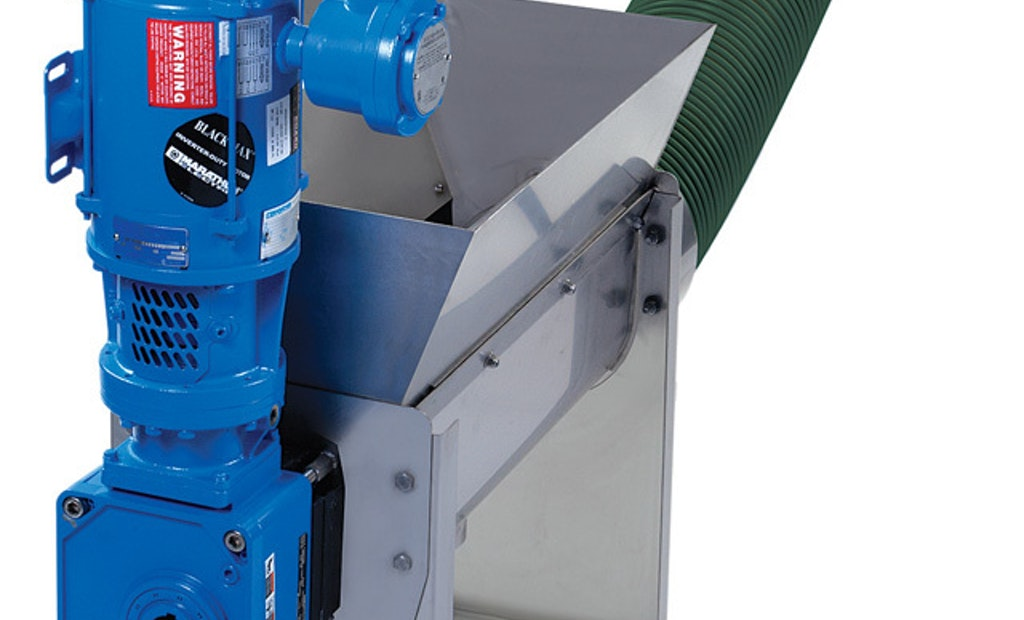 Auger Conveyor  Adds Disposal Flexibility