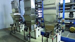 Eagle Microsystems VF-100 Dry Chemical Feeder