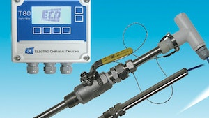 Electro-Chemical Devices S80-T80 cyanide analyzer monitoring system