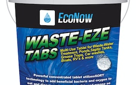 Distillation/Floridation Equipment and Microbiological Control - Eco-logical Concepts Waste-Eze Tabs