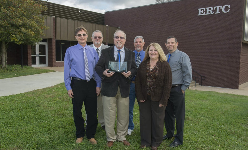 Environmental Resources Training Center Receives Governor's Award