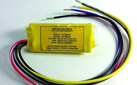 Electronic Systems UV lamp fail-safe switch