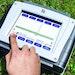 FCS touch-screen leak detection correlator