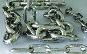 Pump Parts/Supplies/Service - Fehr Bros. T-316 High-Strength Stainless Steel Chain