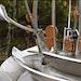 A Unique Metal Sculpture Reflects Its Water Treatment Plant Surroundings