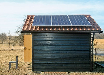 Holding System Uses Renewable  Energy for Remote Operation