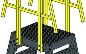 Grating/Handrails/Ladders - Fibergrate Composite Structures composite crossover ladder