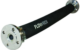 Flowrox pulsation dampener