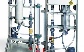 Chemical/Polymer Feeding Equipment - Fluid Dynamics dynaBLEND