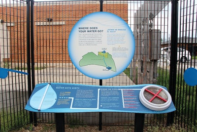 How a Utility Converted a Fence Into a Teaching Tool