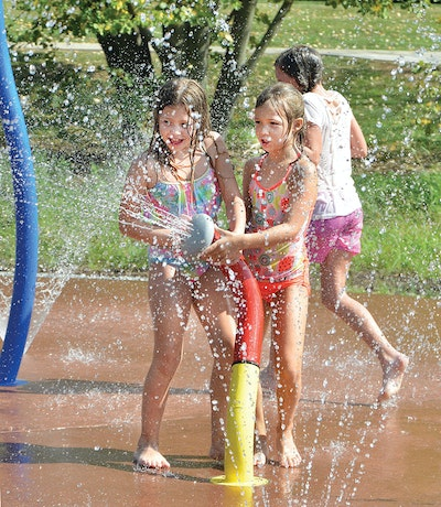 A Splash Park on a Water Plant Site Demonstrates a City's Commitment to Its Citizens