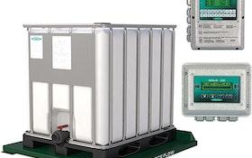 Chemical/Polymer Feeding Equipment - Force Flow TOTE BIN SCALE