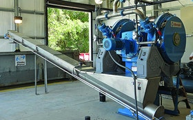 Belt Filter/Rotary Presses - Fournier Industries Rotary Press