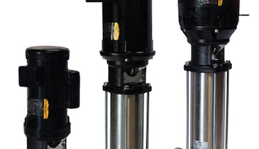 Vertical Booster Pumps Offer Superior Efficiency