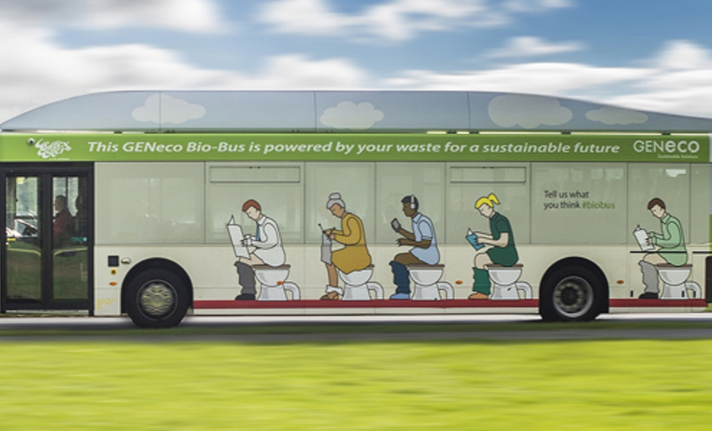 Forget Diesel. This Bus Runs on Biogas!