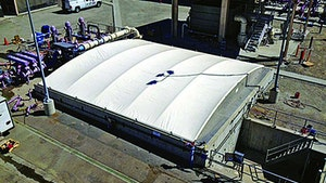MBRs - Geomembrane Technologies structurally supported covers