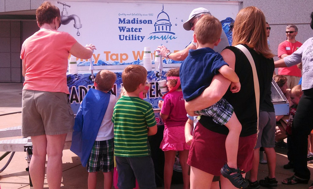 Madison Water Utility Takes Product on the Road With Water Wagon
