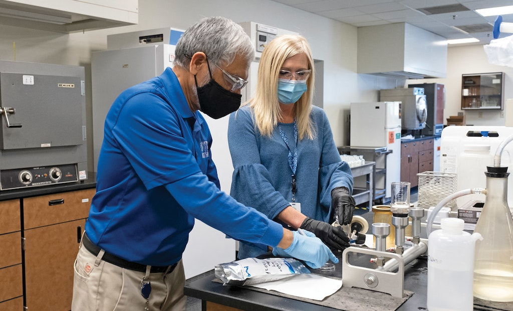 Clayton County Lab Functions as an Integral Part of the Clean-Water Operations Team