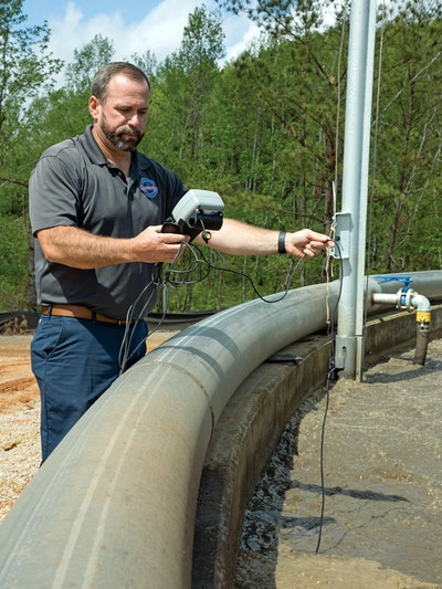 Chris Patterson Leads by Serving. It's His Ticket to a Successful Water and Wastewater Career