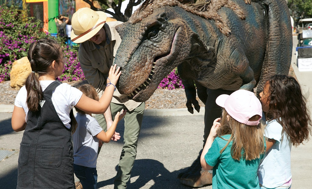 Creatures From Prehistoric Times Visit a California Clean-Water Facility