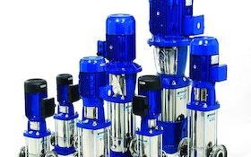 Vertical/Lift Station Pumps - Goulds Water Technology Series e-SV