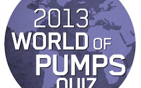 Thousands from 140 countries enter ITT Goulds Pumps' World of Pumps Quiz