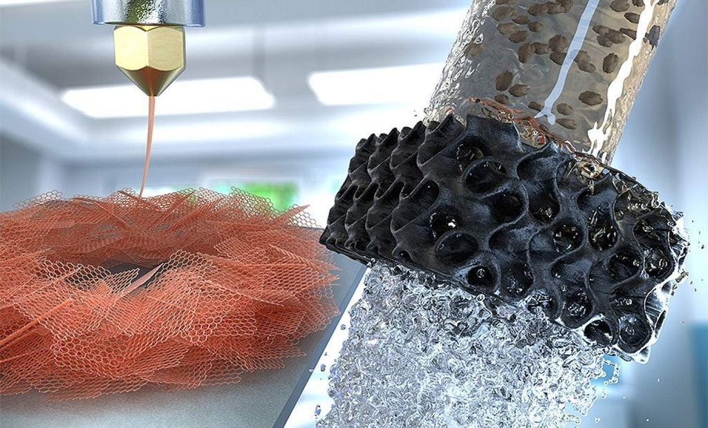 Engineers Report New Process for 3D Printing Aerogels for Water Treatment