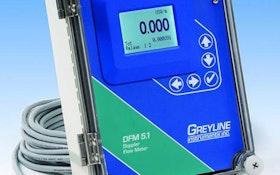 Flow Monitoring - Greyline Instruments DFM 5.1 Doppler Flow Meter