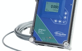 Meters - Greyline Instruments DFM 6.1 Doppler flowmeter