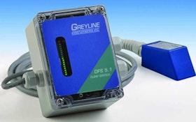 Motor and Pump Controls - Greyline Instruments Model DFS 5.1 Doppler Flow Switch