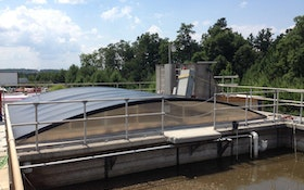 Tank Covers Help Community Control Odors from Wastewater Treatment