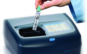 Sampling Systems - Lab spectrophotometer