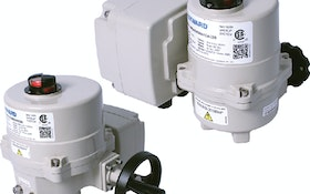 Hayward Flow Control HRS Series electric fail-safe actuators