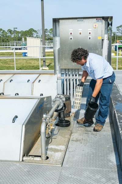 Here's How a Florida Treatment Plant Team Deals With Hurricanes and Other Storm Events