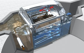 Screening Systems - HUBER Technology Drum Screen LIQUID