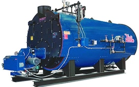 Boilers - Four-pass packaged Scotch boiler