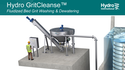 Hydro GritCleanse – Cleaner amd Drier Grit Than Ever Before